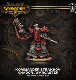 Privateer Press Kommander Strakhov