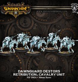 Privateer Press Retribution Dawnguard Destor Unit