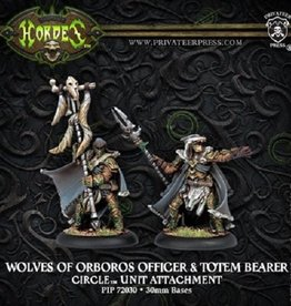 Privateer Press Wolves Master of the Hunt and Totem Bearer