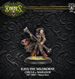 Privateer Press Kaya the Wildborne (variant)