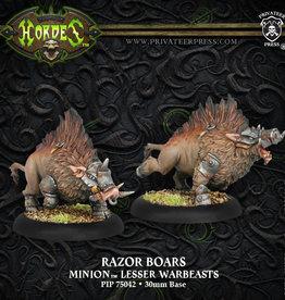 Privateer Press Minions Razor Boars