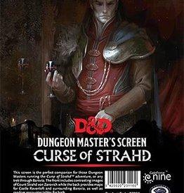 Gale Force Nine D&D 5th ed. DM Screen Curse of Strahd