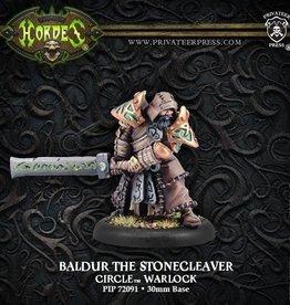 Privateer Press Baldur Stonecleaver  (Resculpt)