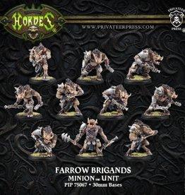Privateer Press Farrow Brigands/Commandos Unit