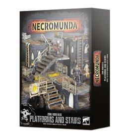 Games Workshop Necromunda Zone Mortalis Platforms and Stairs