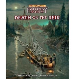 Cubicle 7 Warhammer Fantasy Roleplay 4th Ed. Death on the Reik