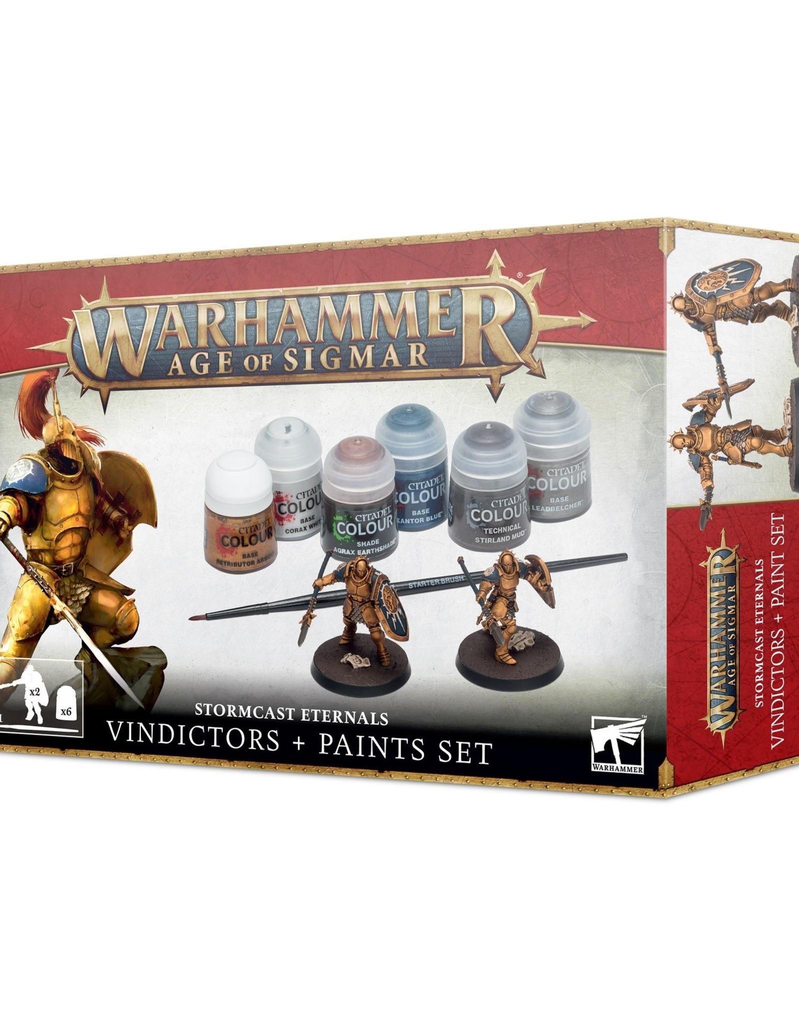 Games Workshop Age of Sigmar: Stormcast Paint Set