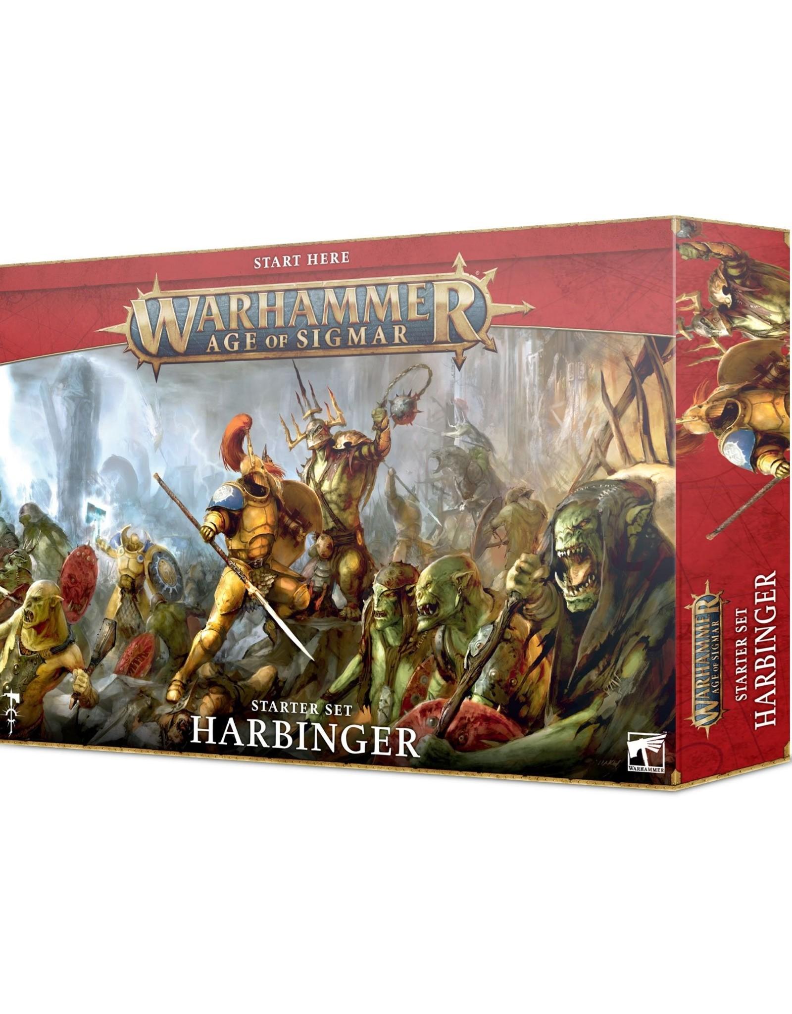 Games Workshop Age of Sigmar:  Harbinger Starter Set