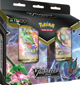 Pokemon USA POK V Battle Deck Bundle Rayquazav/Noivernv Pre-order