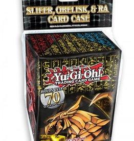Konami Yu-Gi-Oh Slifer, Obelisk, & Ra Card Case