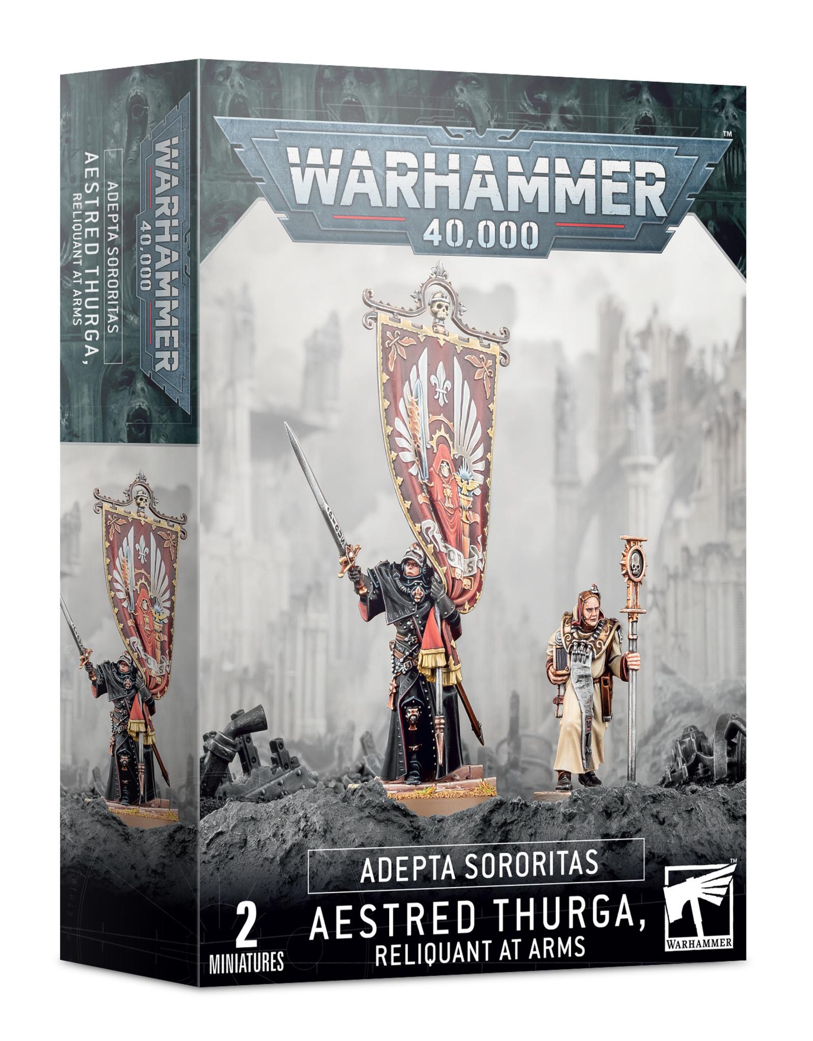 Games Workshop Adepta Sororitas Aestred Thurga, Relinquant at Arms