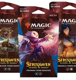 Wizards of the Coast MtG Strixhaven: School of Mages Theme Booster