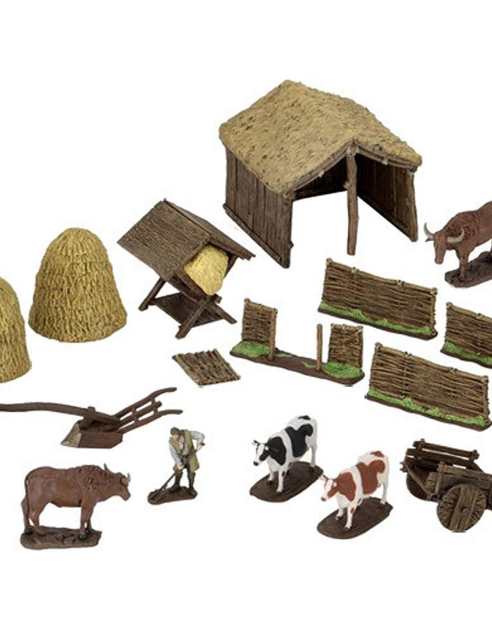 Wizkids 4D Settings: Medieval Farmer
