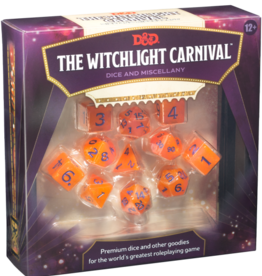 Wizards of the Coast D&D 5th ed. Beyond the Witchlight Carnival Dice Set Pre-order