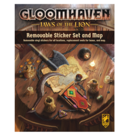 Sinister Fish Games Gloomhaven: Jaws of the Lion Removable Stickers & Map (EN)