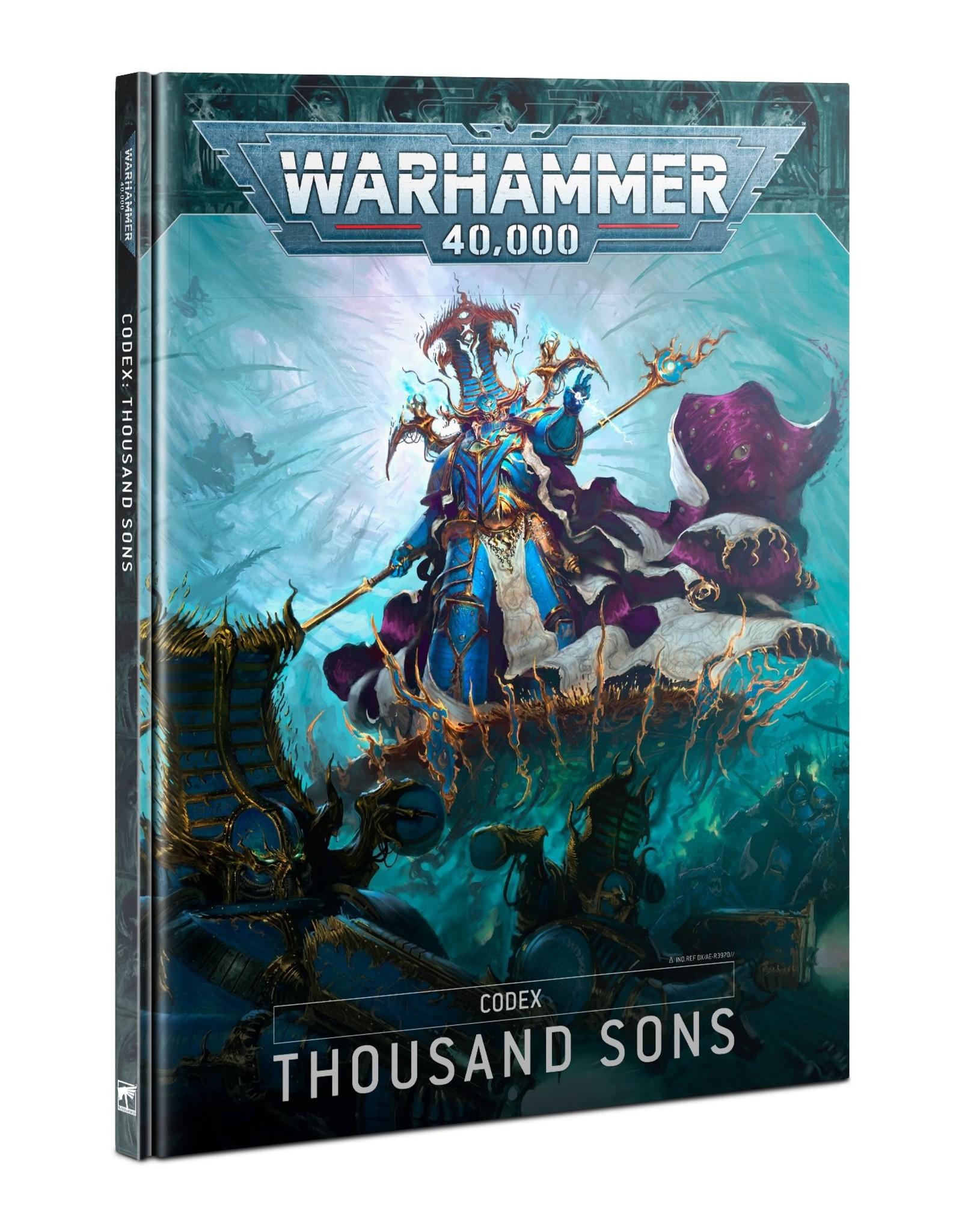 Games Workshop Codex: Thousand Sons (EN)