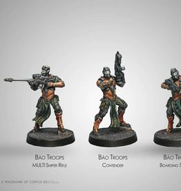 Corvus Belli Bao Troops, Judicional Watch Unit (4)