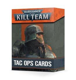 Games Workshop Kill Team: Tac Ops Cards (EN)