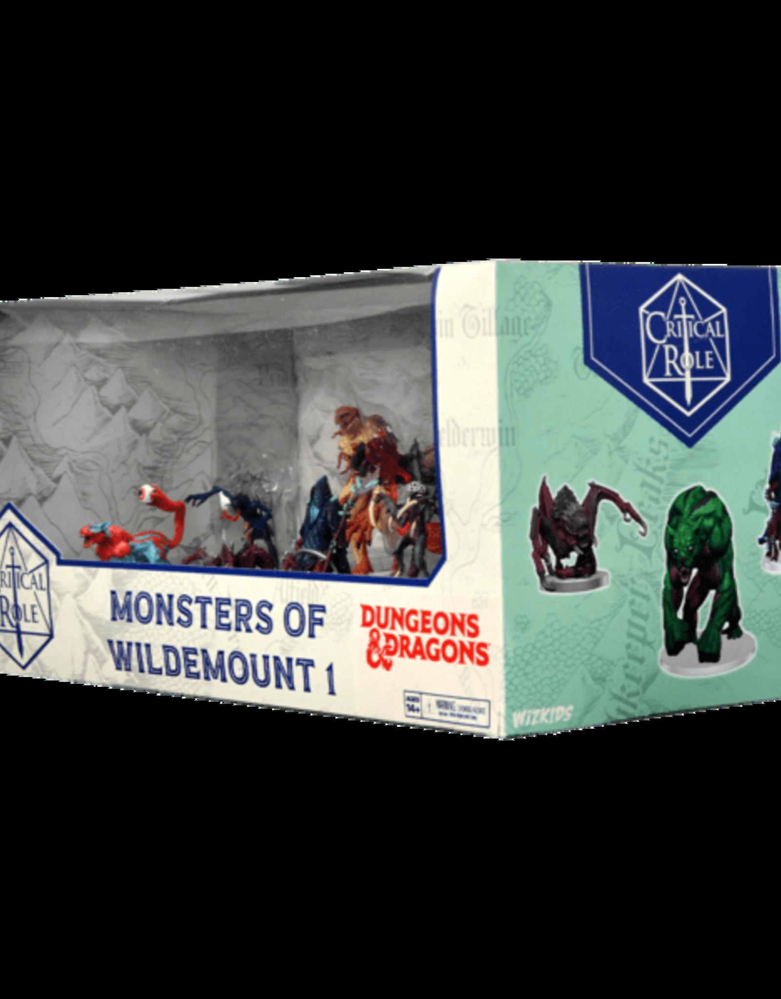 Wizkids D&D Critical Role: Monsters of Wildemount - Box Set 1