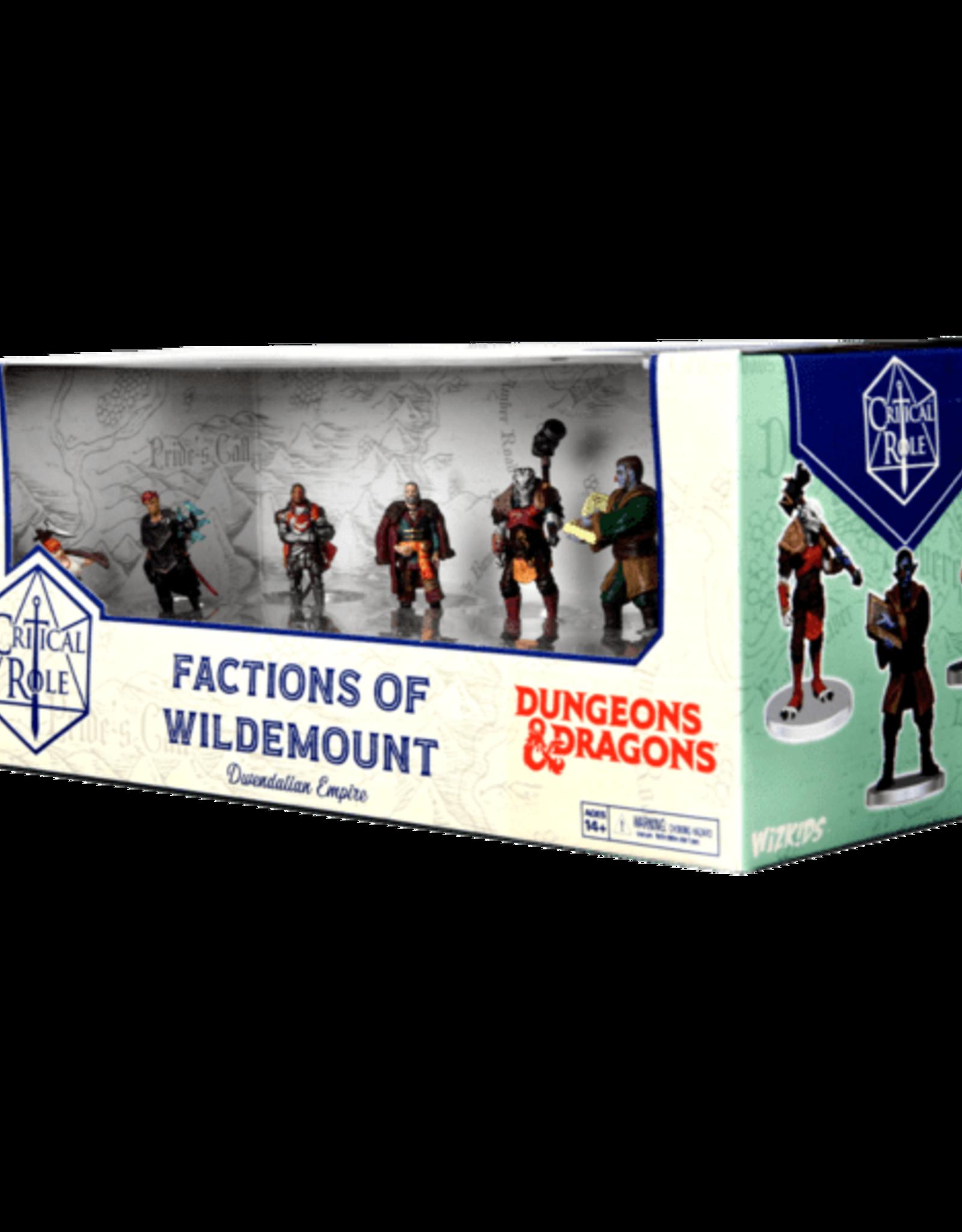 Wizkids D&D Critical Role: Factions of Wildemount - Dwendalian Empire Box Set