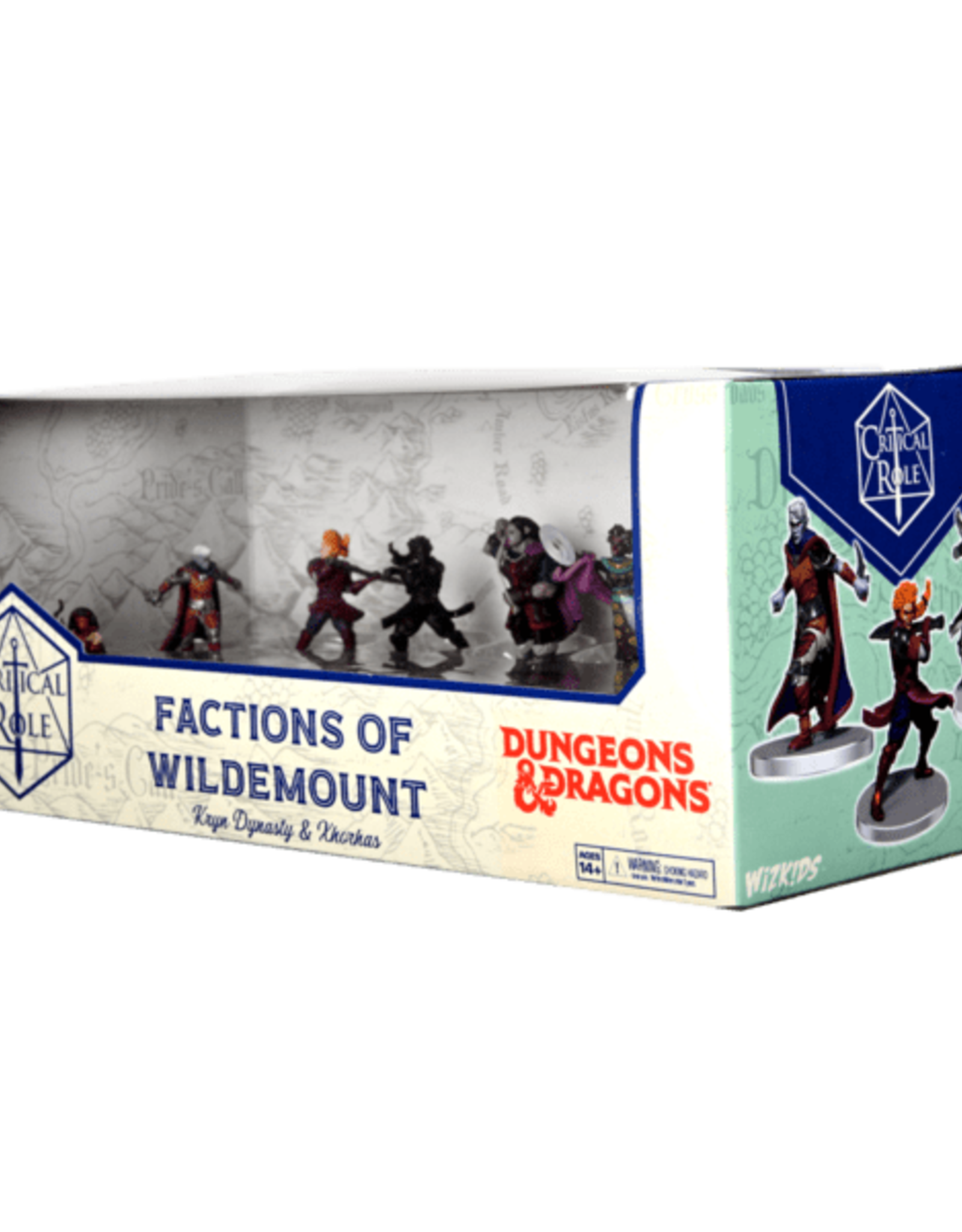 Wizkids D&D Critical Role: Factions of Wildemount - Kryn Dynasty & Xhorhas Box Set