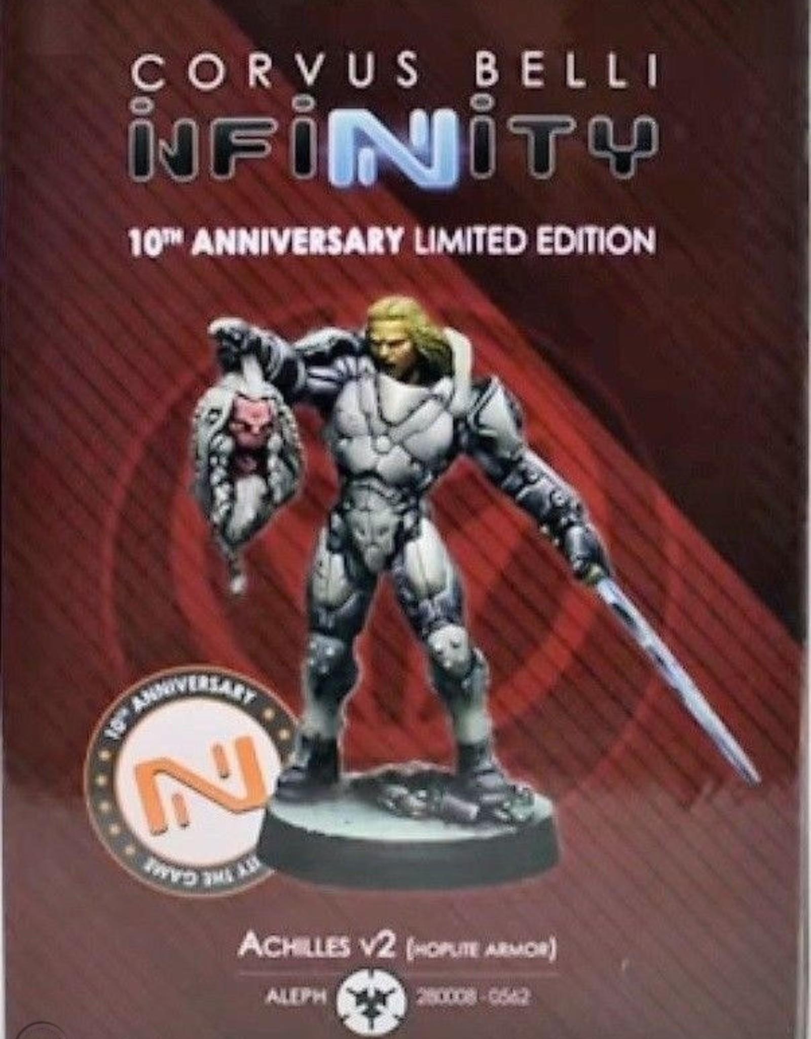 Corvus Belli Achilles V2 (Hoplite Armor) 10th anniversary Ltd Edition