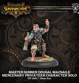 Privateer Press Master Gunner Dougal MacNaile