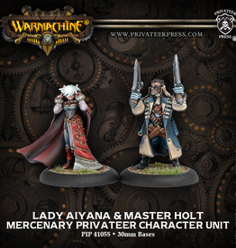 Privateer Press Lady Aiyana and Master Holt
