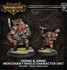 Privateer Press Herne and Jonne