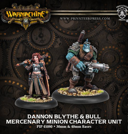 Privateer Press Dannon Blythe and Bull