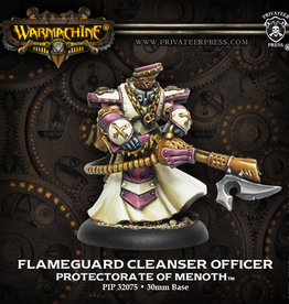 Privateer Press Flameguard Cleanser Officer