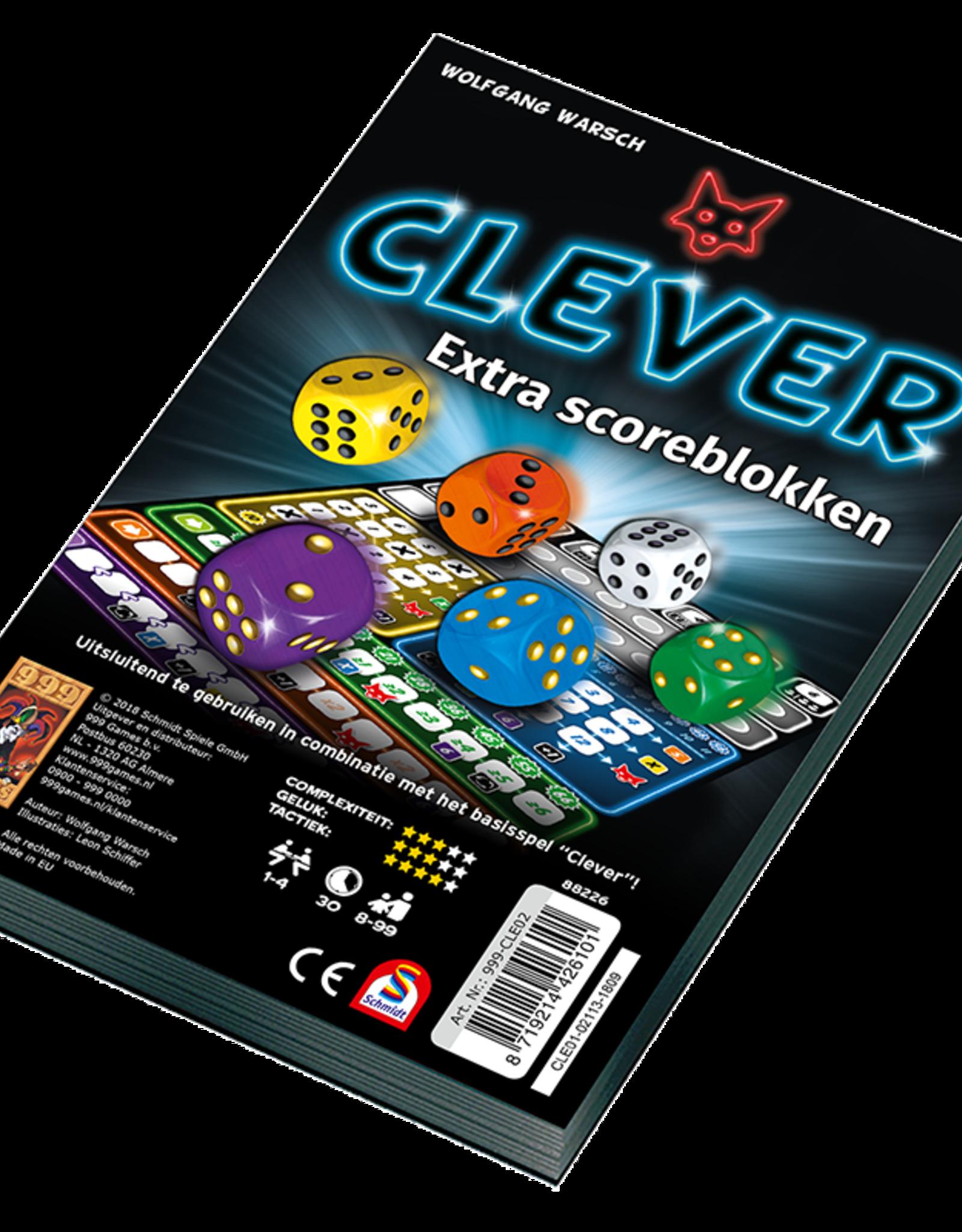999-Games Clever: Scoreblok (NL)
