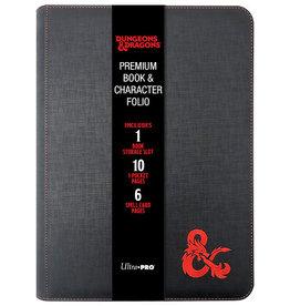 Ultra Pro Dungeons & Dragons Premium Zippered Book & Character Folio