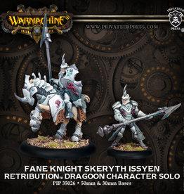 Privateer Press Fane Knight Skeryth Issyen