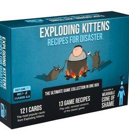 Exploding Kittens Exploding Kittens Recipes for Disaster (EN)