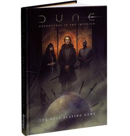 Modiphius Entertainment Dune: Adventures in the Imperium – Core Rulebook Standard Edition (EN)