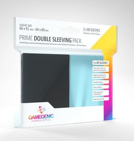 Gamegenic SLEEVES Prime Double Sleeving Pack (80)