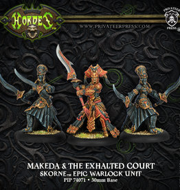 Privateer Press Makeda and The Exalted Court