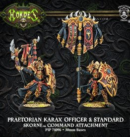 Privateer Press Praetorian Karax Commander & Standard