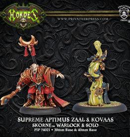 Privateer Press Supreme Aptimus Zaal and Kovaas