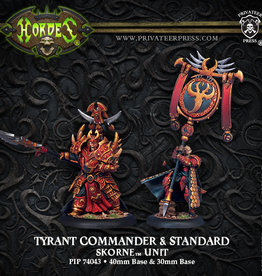 Privateer Press Tyrant Commander and Standard
