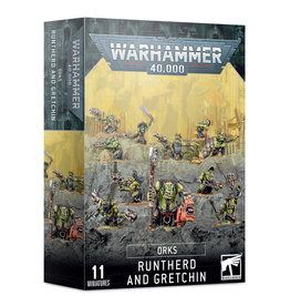 Games Workshop Orks Runtherd and Gretchin