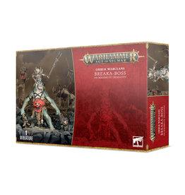 Games Workshop Orruk Warclans Breaka-Boss on Mirebrute Troggoth