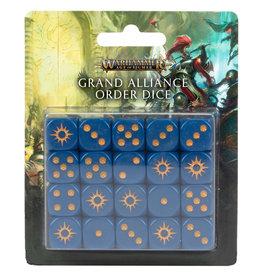 Games Workshop Warhammer Underworlds: Grand Alliance Order Dice Set