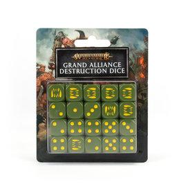 Games Workshop Warhammer Underworlds: Grand Alliance Destruction Dice Set