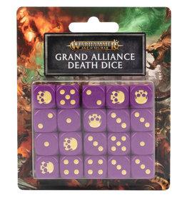 Games Workshop Warhammer Underworlds: Grand Alliance Death Dice Set
