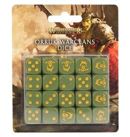 Games Workshop Orruk Warclans Dice