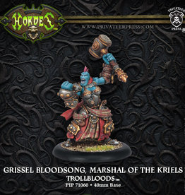 Privateer Press Grissel Bloodsong, Marshal of the Kriels