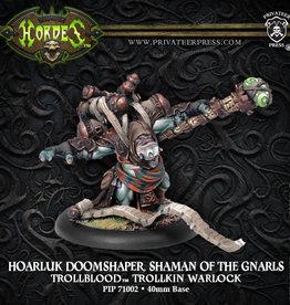 Privateer Press Hoarluk Doomshaper, Shaman of the Gnarls