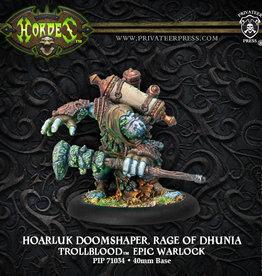 Privateer Press Hoarluk Doomshaper Rage of Dhunia